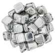 CZECH MATES TILE 6mm-10 g- SILVER