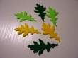 dubové listy- 6ks v balení