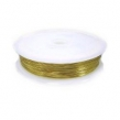Medený drôt 0.7 mm- zlatý/ 5 m