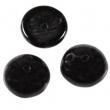 Piggi beads 4x8 mm-čierne-30 ks