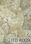 Ryžový papier 210x297mm- Mapy