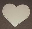 podložka na pedig-dno HDF srdce 21x21cm