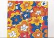 maxi servítka-maľované kvety 33x42cm
