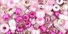 SAKURA-ružovo-bielo-cyklaménový mix 01-3214