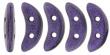 CZECH MATES CRESCENT 10x3mm-5g-Metallic Purple