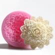 Silikón forma na mydlo a sviečky -ruža v ornamente