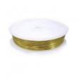 Medený drôt 1 mm- zlatý
