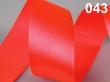 atlasová stuha 25 mm - cena za 1 m-reflexná oranžo