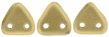 CZECH MATES TRIANGLE 6mm-5g-Matte metallic flax