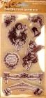 silikónové pečiatky- Anjeli a vianočné motívy
