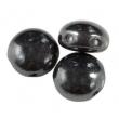 Korálky CANDY 8 mm/10 ks/ Hematite