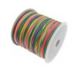 Nylonová šnúra 1 mm/dúhová/cena za 1 m