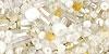 HASU mix zlato-bielo-strieborný 01-3212