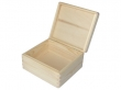 Drevená krabička s vekom-stredná