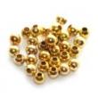 Zatláčacie krúžky-zlaté - 20 ks v balení