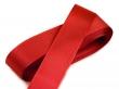 taftová stuha 25 mm - cena za 1 m-červená