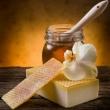 Mydlová hmota 500 g- s medom