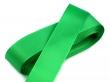 taftová stuha 25 mm - cena za 1 m-zelená