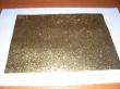 ručne robený papier A5-zlatý gliter