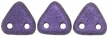 CZECH MATES TRIANGLE 6mm-5g-Metallic suede purple