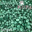 Vosk korálky POHÁNKA 5x3.5mm-20 ks-matt smaragd