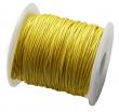 voskovaná niť 1 mm -cena za 1 m-žltá