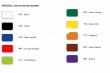 Farby na sklo a porcelán ARMERINA-tmavožltá