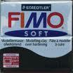 FIMO SOFT 56 g-čierna č.9