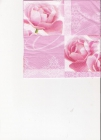 Ružové ruže a oramenty