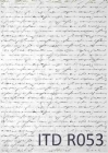 Ryžový papier 210x297mm- Písmo