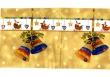 Vianočné zvončeky a mini vianočné obrázky