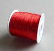 Nylonová šnúra 1 mm/červená/cena za 1 m