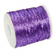Saténové stuhy 2 mm, cena za 1 m - fialová