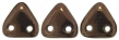 CZECH MATES TRIANGLE 6mm-5g-Dark bronze