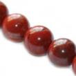 Minerálne kamene JASPIS červený 6mm-10 ks