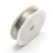 Medený drôt 0.7 mm- strieborný/ 5m