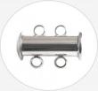Dvojradové magnetické zapínanie 15x11x7mm/paltina