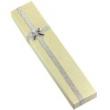 Ozdobná krabička na náhrdelník- krémová