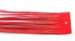 Kožený remienok-červený