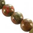 Minerálne kamene-UNAKIT 10mm,10ks v balení