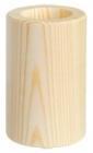 Drevený svietnik, valec 13cm