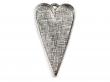 Lôžko na živicu,srdce 30x53 mm-platina