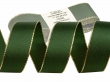 Taftová stuha s lurexom 25 mm-zelená
