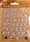 Silikónové pečiatky-Malá abeceda, číslice a znaky