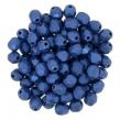 OHŇOVKY- 4 mm/50 ks /Metallic suede blue
