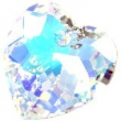 Swarovski heart pendants 6215-crystal AB