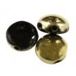 Korálky CANDY 8 mm/10 ks/ Gold