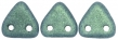 CZECH MATES TRIANGLE 6mm-5g-Metallic suede green