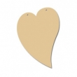 Drevené výrezy/ srdce 20 cm