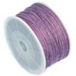 voskovaná niť 1 mm -cena za 1 m-fialová